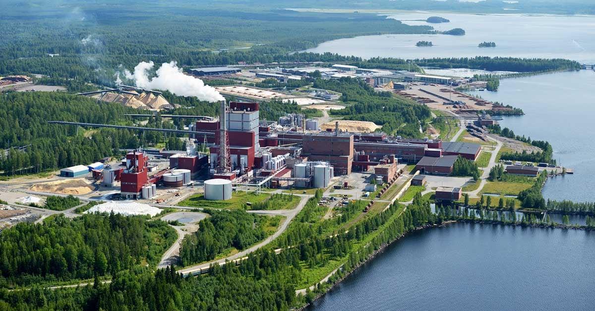 Stora Enson Uimaharjun tehdasalue